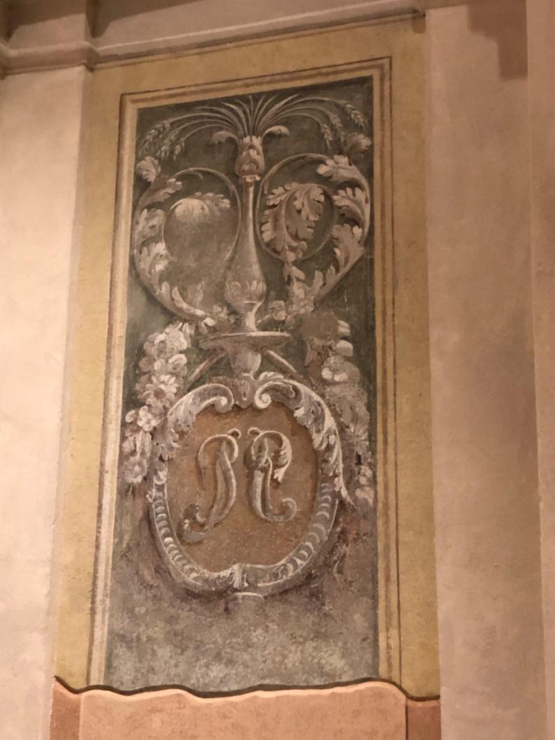 Chiesa cassinetta affreschi