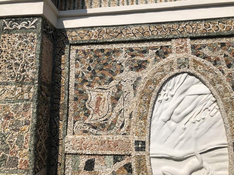 Mosaico villa d'este