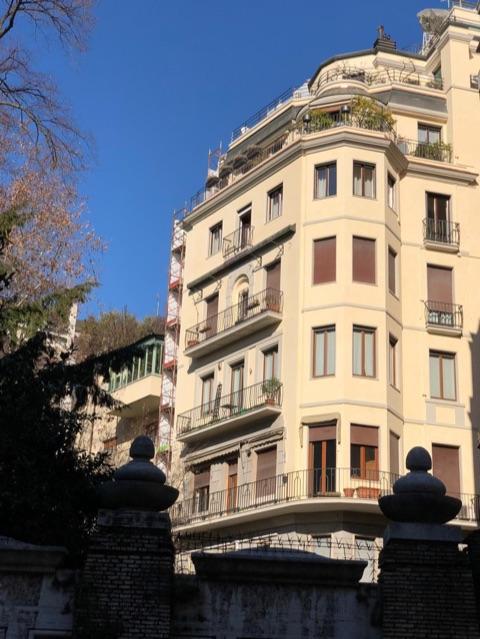 Palazzo Andreoli via Serbelloni 8 Milano