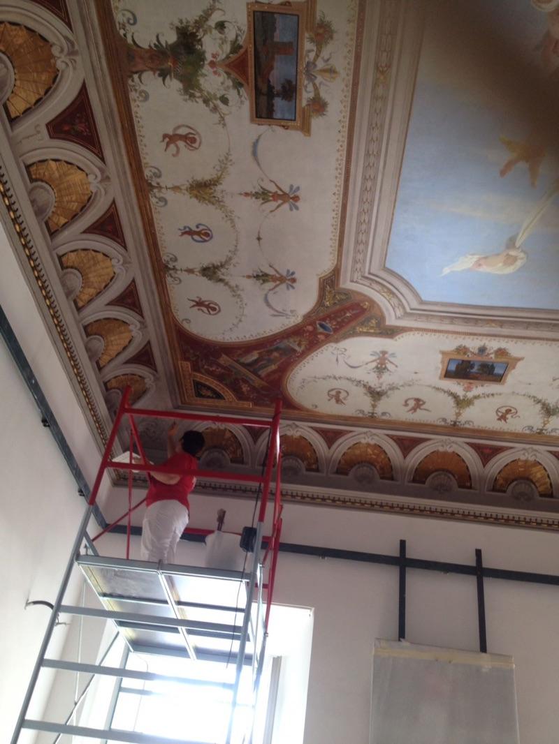 Palazzo Mignanelli affresco