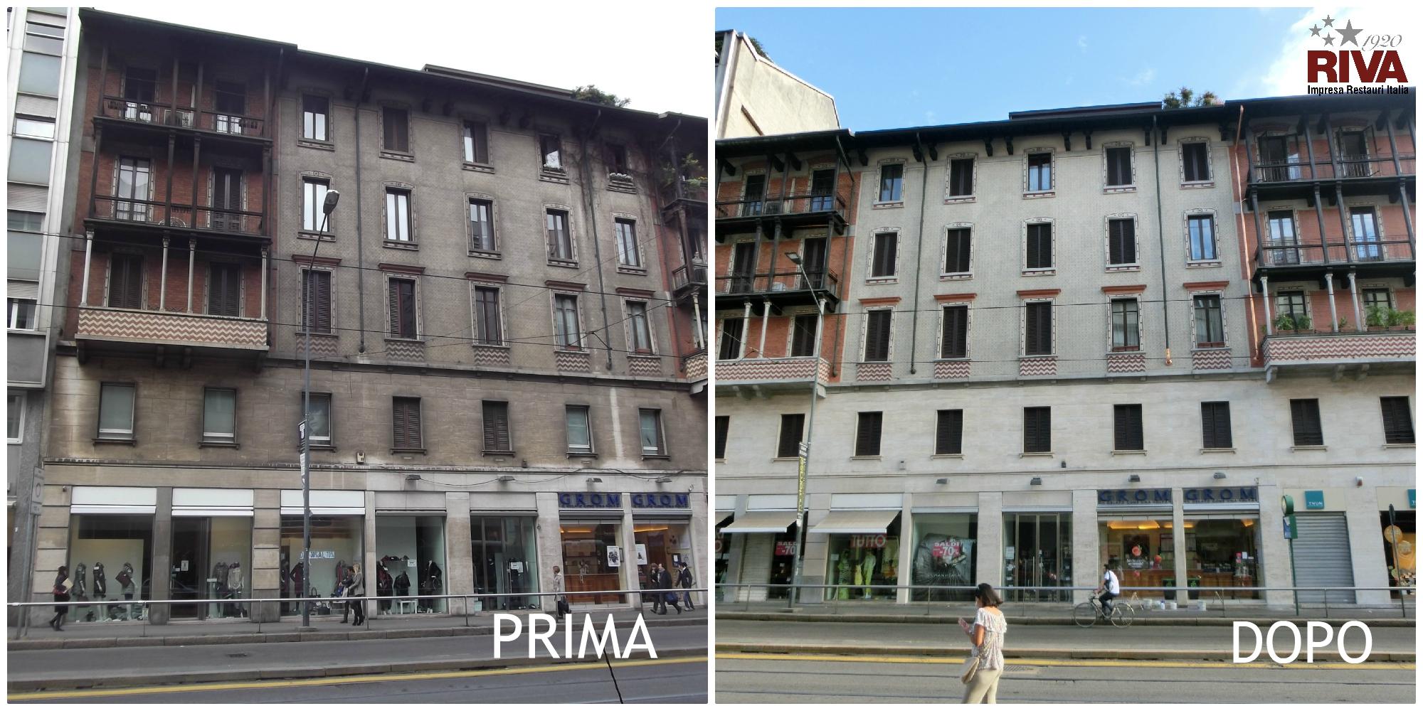 Cellini prima e dopo
